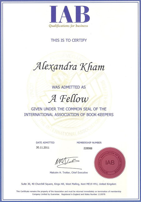 Bookkeeping Qualification in London | AK Bookkeeping Studio
